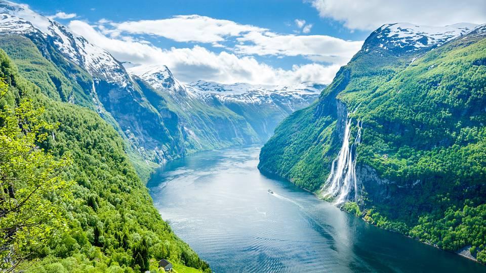 Norway-Geirangerfjord