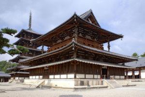 Japan - Golden Hall and Five-storied Pagoda of Hōryū-ji